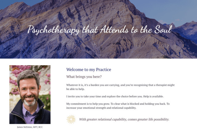 AlreadyFree.org: James McEntee, MFT, RCC – Psychotherapy that Attends to the Soul