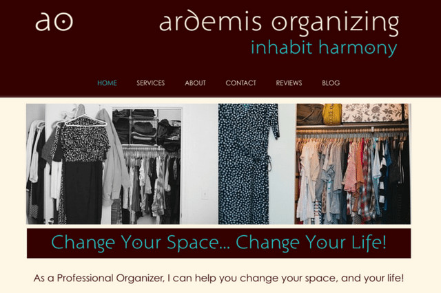 Ardemis Organizing: Inhabit Harmony