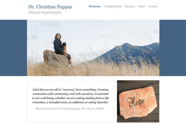 Dr. Christine Pappas: Clinical Psychologist