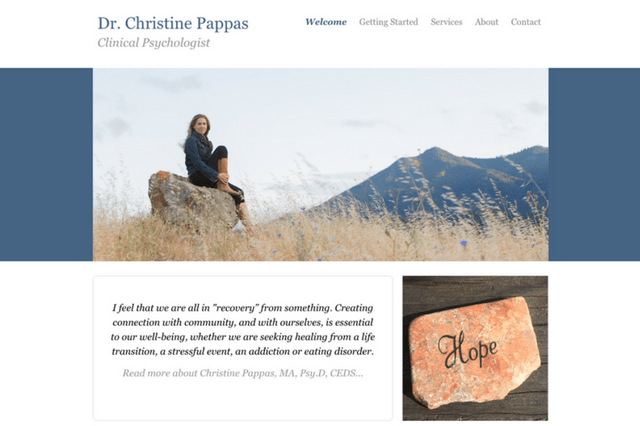 Dr. Christine Pappas: Clinical Psychologist