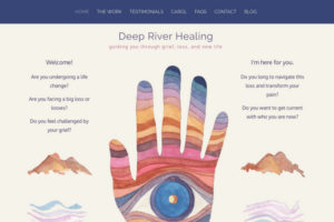 Carol Harada Deep River Healing: guiding you through grief, loss, and new life