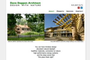 Search Results Dave Deppen Architect: green design in Marin, Sonoma and beyond