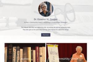 Dr. Eleanor M. Cooper Author • Community Coach • Visioning & Engagement Strategist