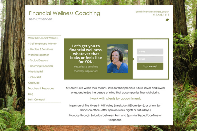 Beth Crittenden | Financial Wellness Coaching