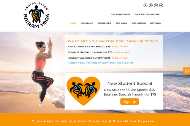 Indian River Bikram Yoga: Vero Beach