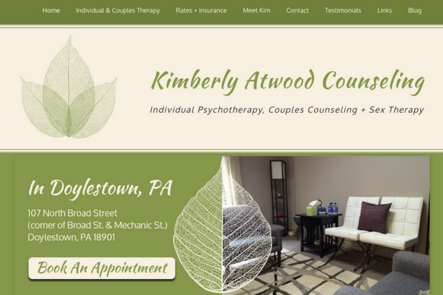 Kimberly Atwood Counseling: Individual Psychotherapy, Couples