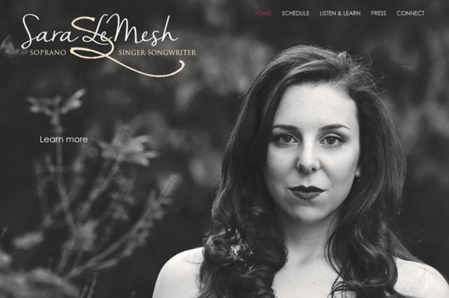 Sara LeMesh: Soprano & Singer-songwriter