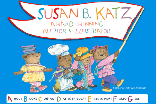 Susan B. Katz – Award-Winning Author & Illustrator