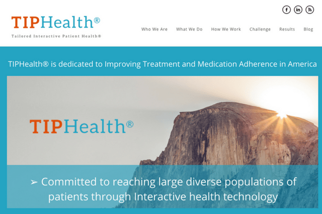 Tailored Interactive Patient Health® | TIPHealth®