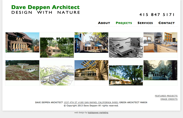 Dave Deppen, Green Architect Marin, Design With Nature