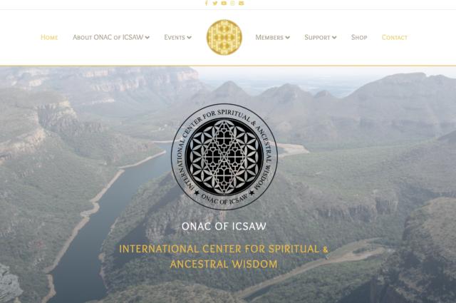 icsaw.com website design for Adam DeArmon by Kojolapower